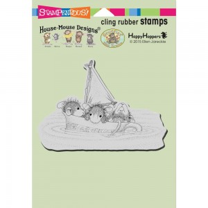 Sail Cup - stempel gumowy Stampendous HMCP97